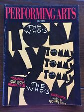 Performing Arts The Who Tommy 1994 Los Angeles So. Cal Theater Program Magazine