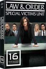 Law & Order . Special Victims Unit . Complete Season 16 . New York . 5 DVD . NEU
