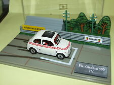 FIAT 500 GIANNINI TV  DIORAMA CIRCUIT