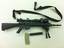 1/6 soldier story Navy seal SS057 Neptune - MK12 MOD Rifle ( approx 13cm long)