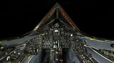 SR-71 BLACKBIRD COCKPIT SUPERSONIC JET POSTER PRINT 20x36 HIGH RES