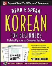 Read and Speak Korean for Beginners with Audio CD, 2nd Edition (Read & Speak for