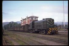 391042 España FC del Lan Alco Rs 3 1602 con tren de pasajeros 1974 A4 Foto Impresión
