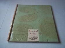 Auroville handmade notebook from cotton & vegetable fibers. Made in India. New.