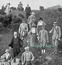 Lord Inverclyde Shooting Party Cove Dumbarton 1913 Photo Article 9987