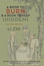 NEW - A Book to Burn and a Book to Keep (Hidden): Selected Writings