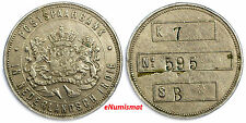 NETHERLANDS EAST INDIES Post Office Savings Bank (Postspaarbank) Token 30mm
