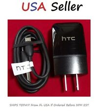 HTC 1.5A Charger + USB Cable Charging Kit ONE M7 M8 E8 M9 Authentic OEM Original