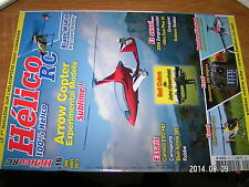 Revue Helico RC n°16 Arrow Copter Spark 550 Bien choisir Helico Bell Cobra