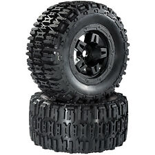 Monstertruck Reifen Felgenset Destroyer mit 5-Speichenfelge schwarz 1:8 partCore