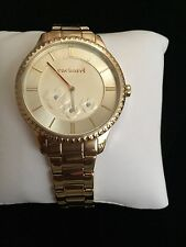 LADIES LUXURY WATCH  BY CACHAREL WITH FLOWERS ON DIAL STUNNING FRENCH DESIGN