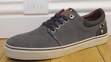 Mens UK 8 EU 42 Grey Wrangler WR176 suede leather comfortable lace up Pump shoes