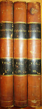 The Exclusives. 1830.  3 Volumes. 3/4 Leather. Lady Charlotte Bury. Tight copies