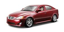 Bburago Lexus IS 350 Burgundy 1/24 Diecast Car 22103