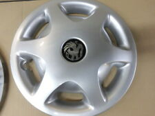 Radkappen Zierblenden 14'' SATZ Emblem Vauxhall Opel VECTRA B original OPEL