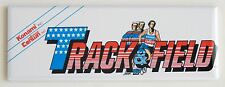 Track & Field Marquee FRIDGE MAGNET (1.5 x 4.5 inches) arcade video game