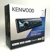 Kenwood KDC-BT765HD Car CD Receiver Radio Bluetooth USB AUX In HD Radio SXM NEW