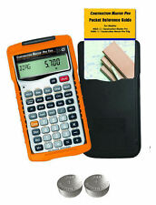 New Calculated Ind. Construction Master Pro Trig 4080 with Spare LR44 Batteries