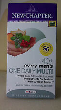 NEW CHAPTER EVERY MAN'S ONE DAILY MULTI VITAMIN 40+ *(96 TABLETS TOTAL)**
