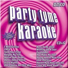 Party Tyme: Disco Hits [CD + G] by Sybersound (CD, May-2005, Sybersound)