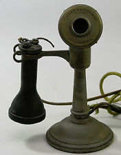 International Chicago Tapered Shaft Candlestick Telephone Phone OST Receiver
