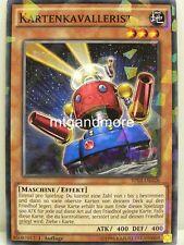 Yu-Gi-Oh - 1x Kartenkavallerist - Shatterfoil Rare - BP03 - Monster League