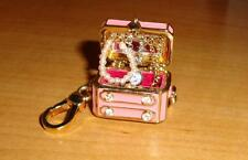 NEW JUICY COUTURE JEWELRY CHEST CHARM FOR BRACELET/NECKLACE