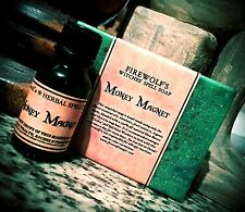 Money Magnet Soap & Spell Oil (Wicca, Witchcraft, Hoodoo)