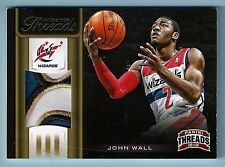 JOHN WALL 2012/13 PANINI THREADS AUTHENTIC THREADS 4 COLOR PATCH /25 WIZARDS