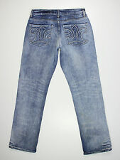 TopBrandz mens Size 32w reg leg 32L high rise straight fit blue jeans