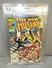 THE NEW MUTANTS #10 (Magma 1st app) White Pages CBCS 9.8 Marvel Comics 1983 cgc