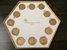 2003 Malaysia Endangered Species 12 Coins box - Animal