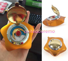 Handmade Sailor Moon Cosplay Moonlight Memory Star Locket Music Box Metal Gift