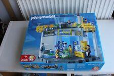 Playmobil 3886 aeropuerto, nuevo, sin abrir rara vez!