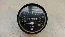 1974 suzuki tc100 enduro S617~ speedo speedometer gauge