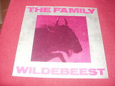 The Family:  Wildebeest  UK   LP  EX+