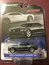 Greenlight General Motors Collection 2012 Chevrolet Camaro SS         Ashen Gray