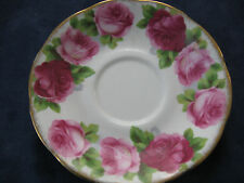 SAUCER OLD ENGLISH ROSE ROYAL ALBERT ENGLAND