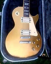 VINTAGE 1976 GIBSON LES PAUL DELUXE GOLD TOP VERY NICE CONDITION WITH HARD CASE