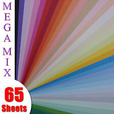 Mega Mix Pack - Craft Card - Top Quality 160gsm A4 - 65 Sheets Pack - 35 Colours