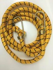 180CM HIGH QUALITY YELLOW ELASTIC BUNGEE CORD HOOK CAMPING LUGGAGE STRAP BUNGIE