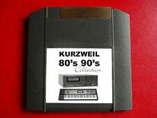 Iomega Cremallera años 80 años 90 Llaves Sonidos Kurzweil k2600 k2500 k2661 k2000r k2600r k2500r