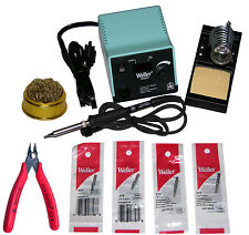 Weller WESD51 Digital Soldering Station 50 Watt Iron, 170M, 4 Tips & Tip Cleaner