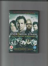 THE ANDROMEDA STRAIN - Complete Mini-Series. Benjamin Bratt (2xDVD SET 2008)