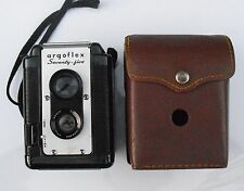 Vintage ARGUS ARGOFLEX Seventy-Five BOX CAMERA With CASE