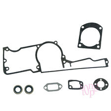 Crankcase Carburetor Gasket Oil Seal Kit Fit HUSQVARNA 61 66 266 268 272 XP K