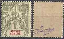 --- FRANCE COLONIE GRANDE COMORE N°13 - NEUF AVEC GOMME D'ORIGINE - COTE 40€ ---