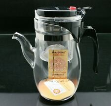 *Glass Tea Pot*Kamjove TP-787 Gong Fu Auto Open Tea Art Pot 600ml Free Shipping!
