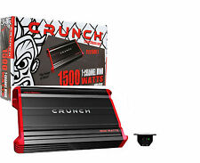 Crunch PZX1500.1 Mono Block Powerzone Series 1 Car Amplifier 1500W Peak Power