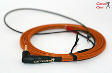 Original Sennheiser Replacement HD25 1.5m angled cable in Orange, HD 25- II